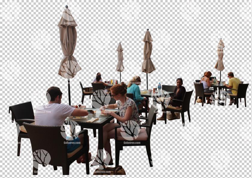 Cafecasualchaircutoutcutout Furniturecutout Groupscutout People
